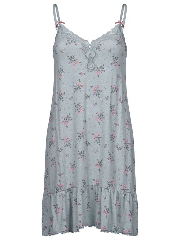 Vive Maria Ice Flower Negligee pearl blue allover view