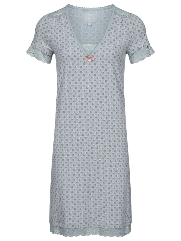 Vive Maria Ice Princess Nightdress pearl blue allover Ansicht