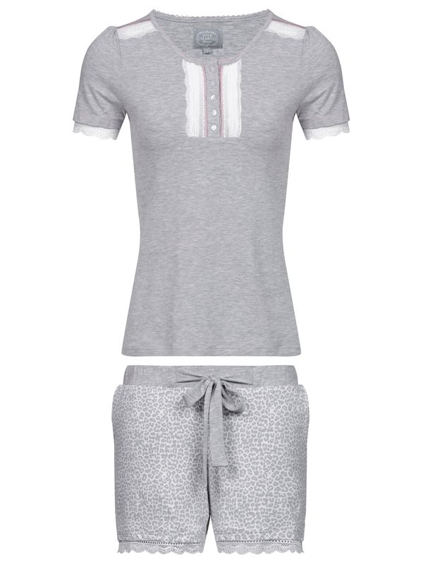 Vive Maria Lovely Leo Pyjama Short leo / grey view