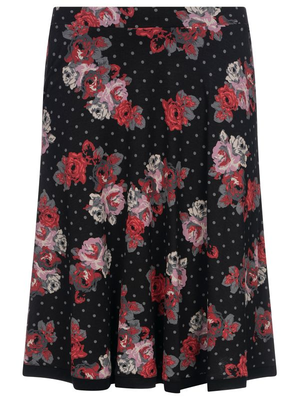 Vive Maria Flowerdots Skirt black allover view