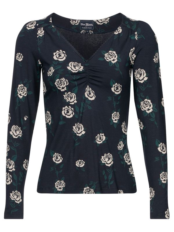 Vive Maria Vanity Rose Shirt Darkblue Allover view