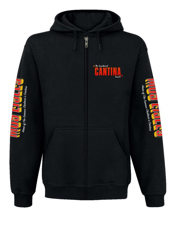 Star Wars Cantina Band Hooded Zip-Jacket black view