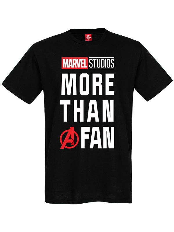 Marvel Fan T-Shirt black view