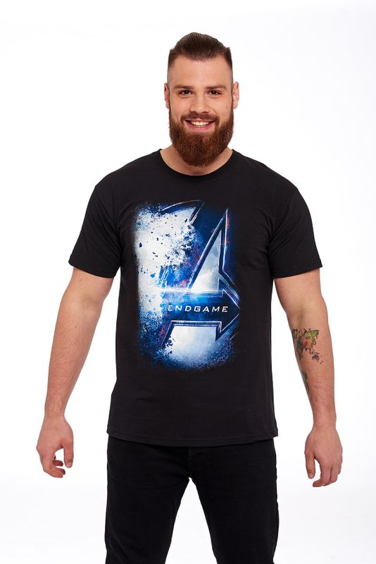 The Avengers Endgame Tee Black view