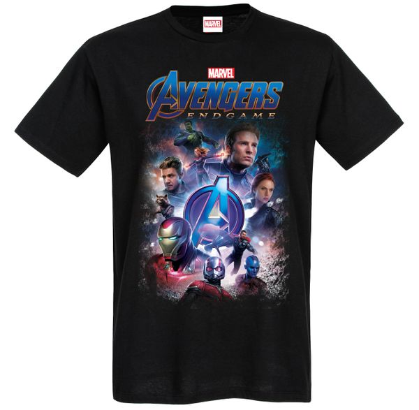 The Avengers Teaser Tee Black view