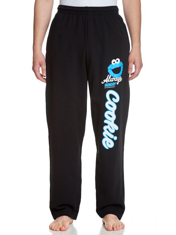 Sesamstrasse Cookie Monster Sportive Jogginghose schwarz Ansicht