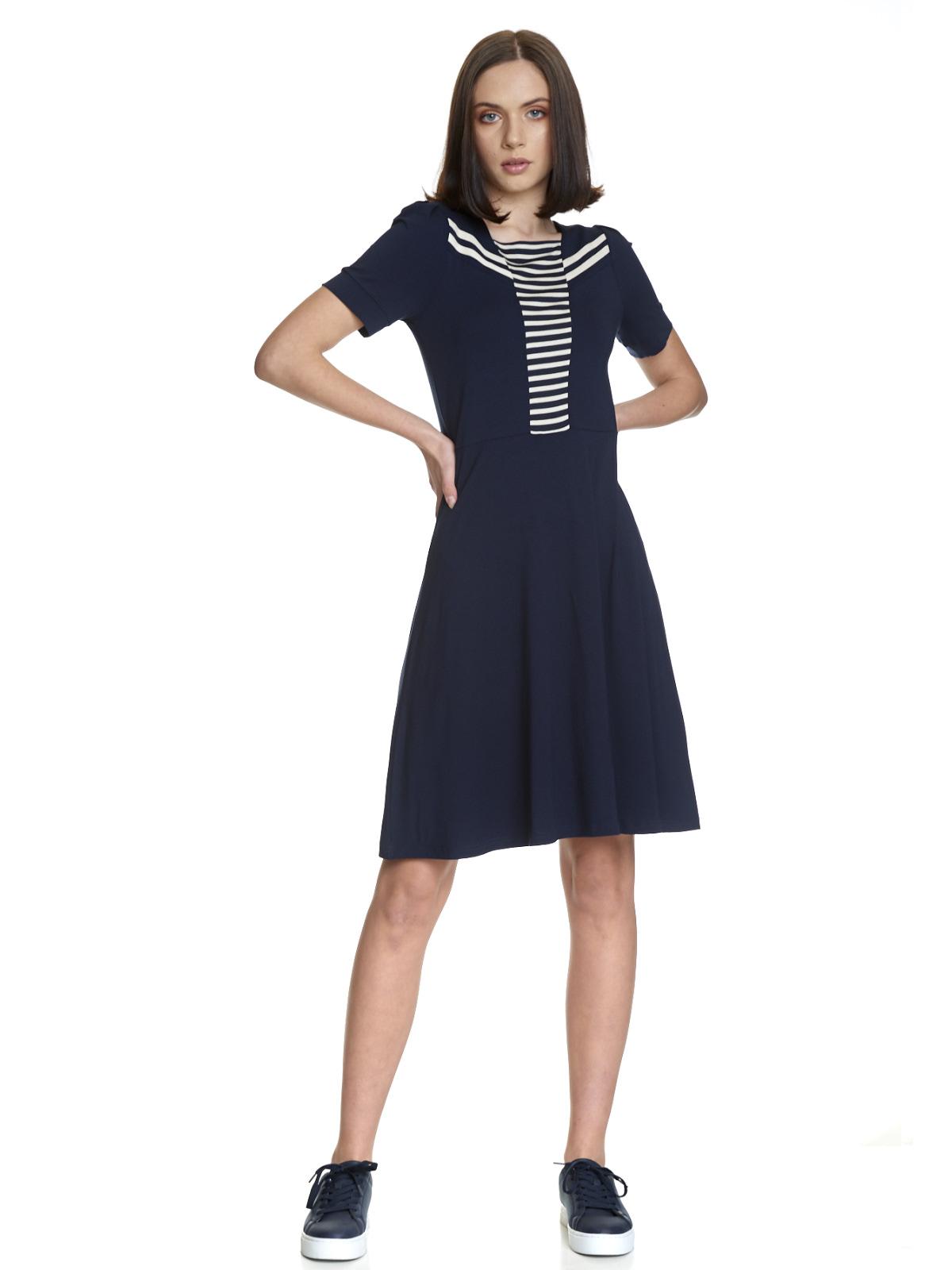 Vive Maria Sweet Navy Shirt marine Allover-Print
