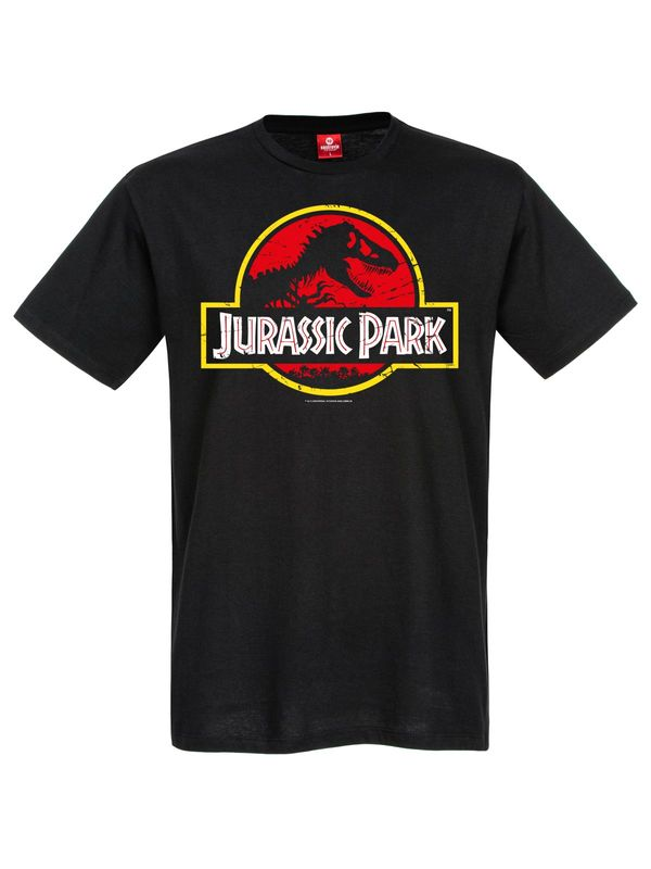 Jurassic Park Classic Logo Tee Male black view