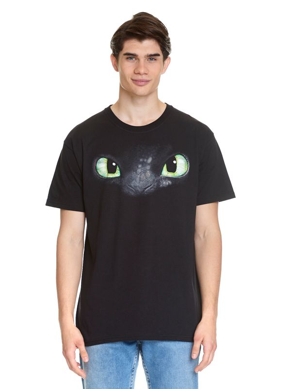 Dragons Eyes T-Shirt schwarz Ansicht