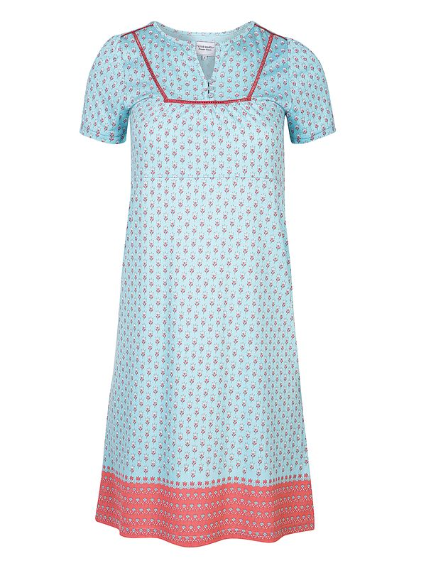 Vive Maria Voyage Nightgown Turquoise Allover view