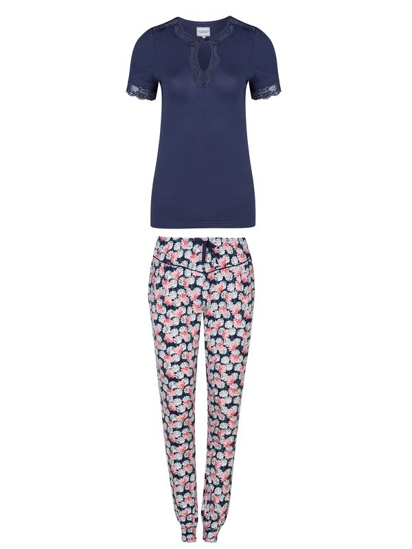 Vive Maria Asia Morning Pyjama Blau Allover Ansicht