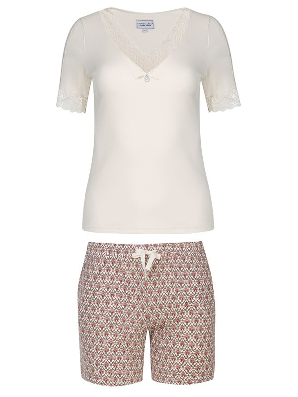 Vive Maria Vanilla Dream Pyjama Short Cream Allover view