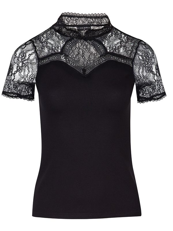 Vive Maria Summer Lace Shirt Black view