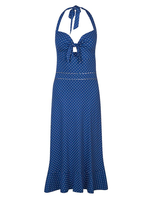 Vive Maria My Nizza Holderneck Dress Blue/Allover view