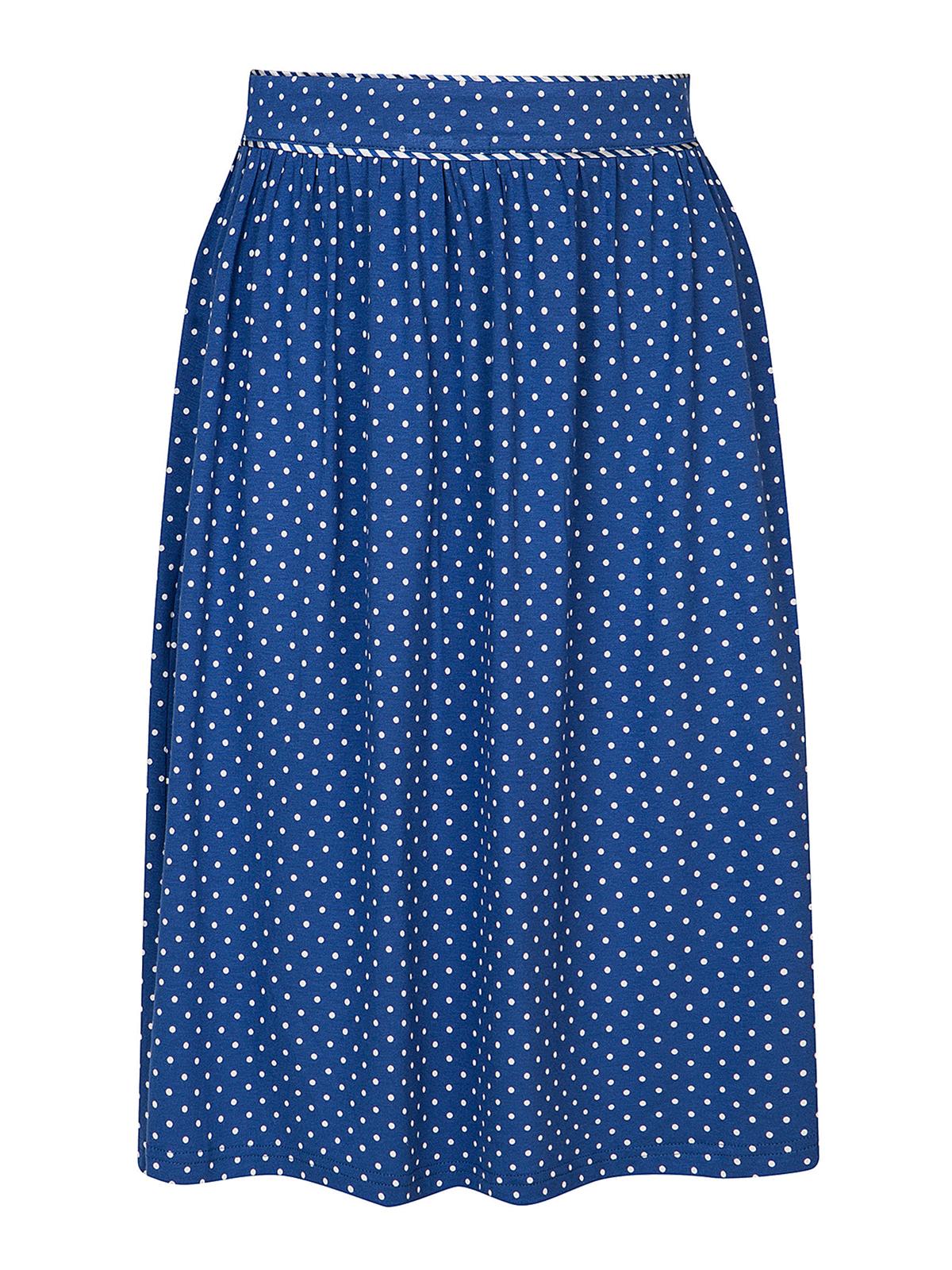 Roecke - Vive Maria Nizza Skirt Blue Allover – Größe S  - Onlineshop NAPO Shop