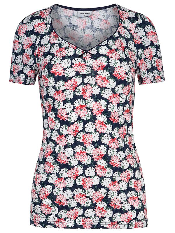 Vive Maria Summer Lily Shirt  Blue/Allover view