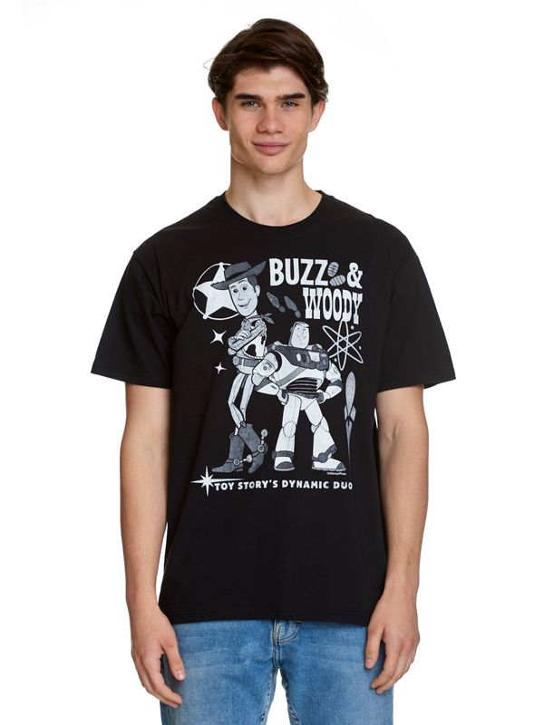 Toy Story Dynamic Duo T-Shirt black view