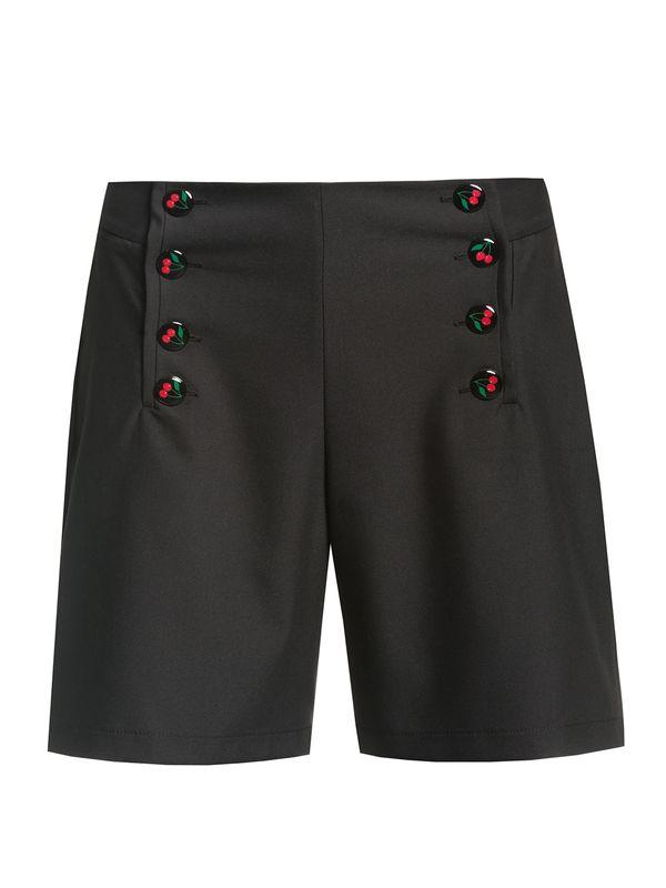 Pussy Deluxe Cherries Short Pants black view