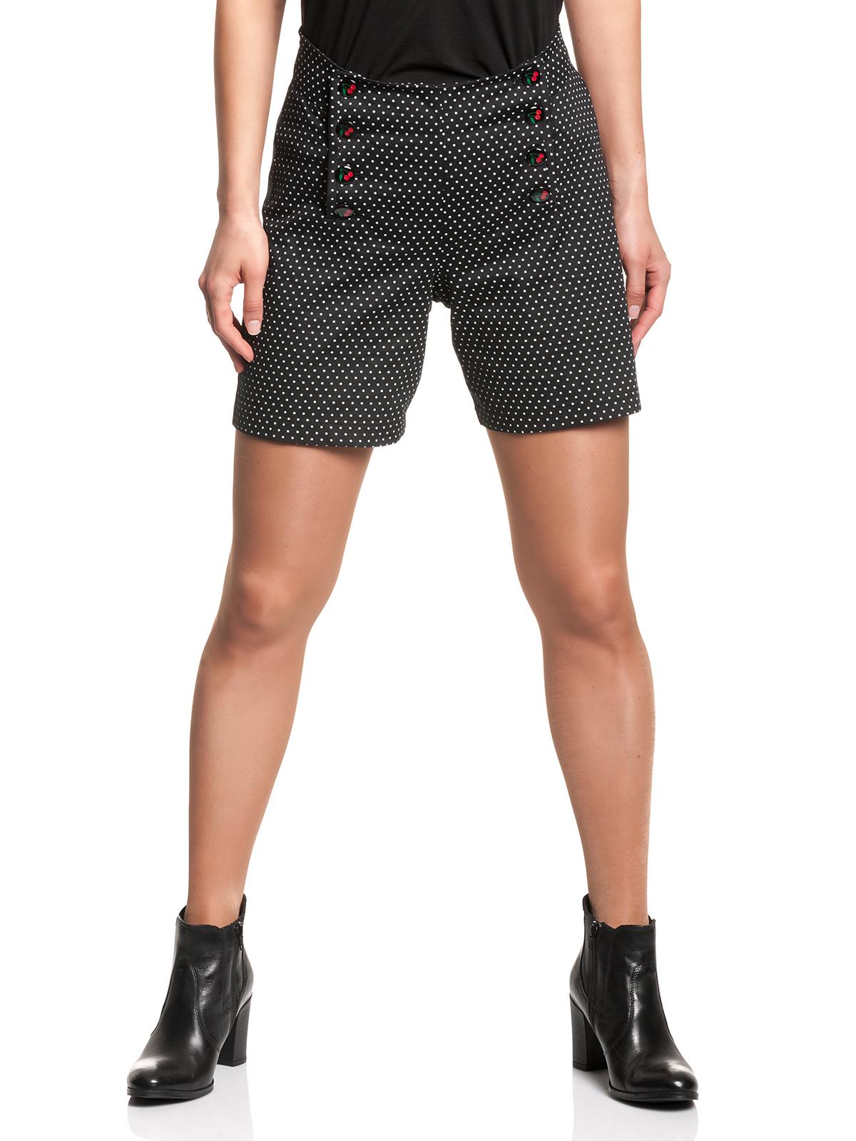 Hosen - Pussy Deluxe Sweet Cherries Dotties Damen Shorts – Größe XL  - Onlineshop NAPO Shop