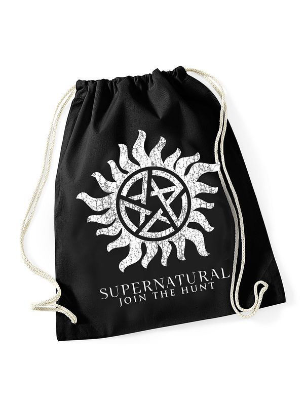 Supernatural Superantural Symbol Bag black Ansicht