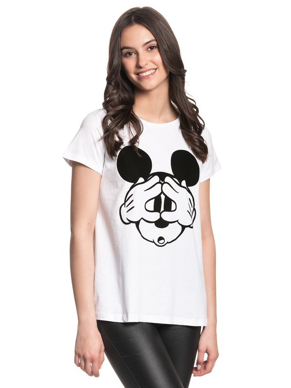 Disney Mickey Mouse Hey Mickey Shirt white view