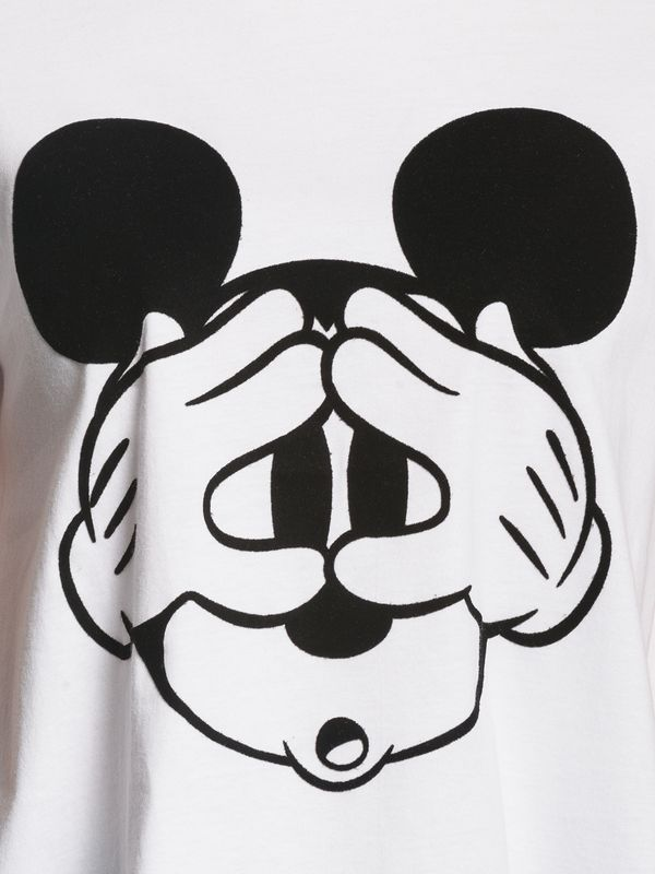 Disney Mickey Mouse Hey Mickey Shirt white Ansicht