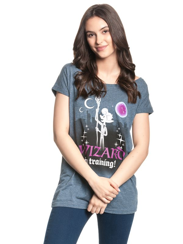 Onward Wizard In Training Girl Loose Shirt blue-mel. view