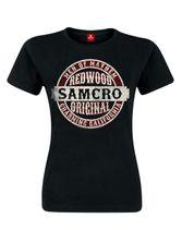 Sons Of Anarchy Samcro Original Girl Shirt Frauen T-Shirt schwarz
