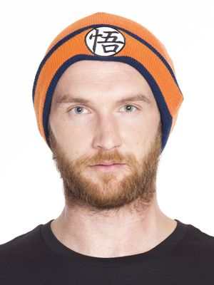 Dragon Ball Z Beanie Mütze orange – Bild 0