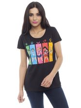Sailor Moon All Characters Girl-Shirt, Frauen T-Shirt schwarz – Bild 1