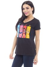 Sailor Moon All Characters Girl-Shirt, Frauen T-Shirt schwarz – Bild 2