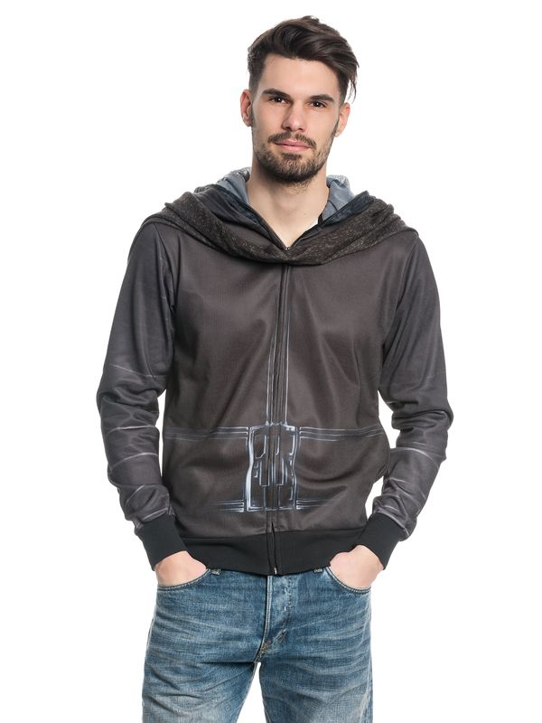 Star Wars Kylo Ren Zip-Hoodie male black – Bild 2