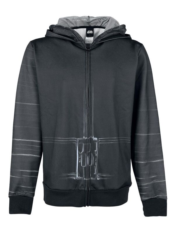 Star Wars Kylo Ren Zip-Hoodie male black – Bild 1