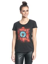 Vikings Shield Girl Shirt Frauen T-Shirt schwarz – Bild 3