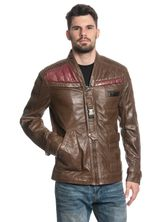 Star Wars Finn Leather Jacket for Men Brown – Bild 1