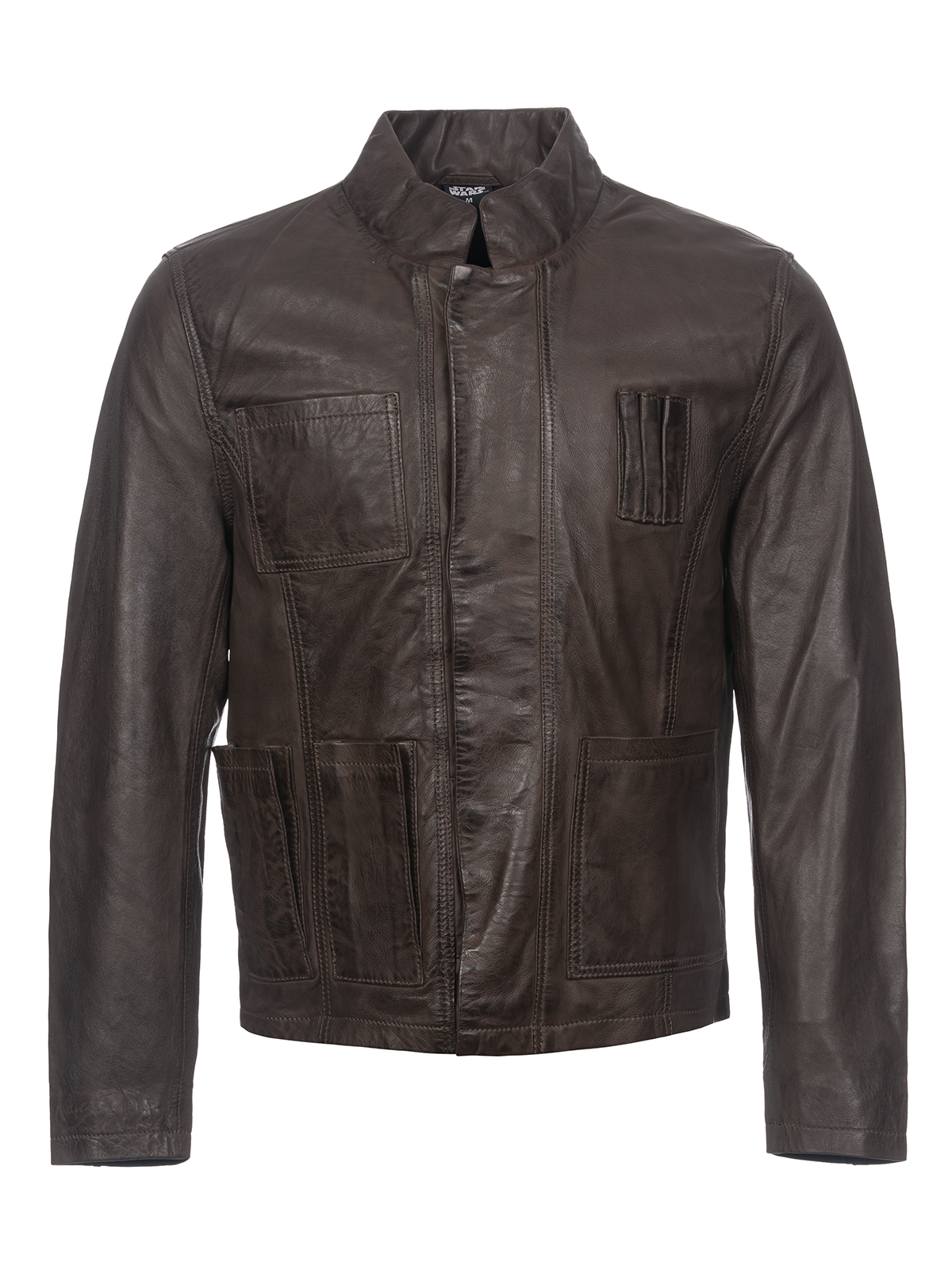 Han Wars Star Solo For Jacket Leather Brown Men doBWxrCe