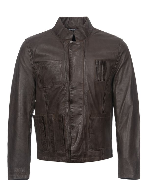 Star Wars Han Solo Leather jacket for Men Brown view