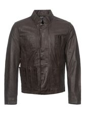 Star Wars Han Solo Leather jacket for Men Brown – Bild 0