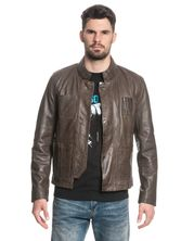 Star Wars Han Solo Leather jacket for Men Brown – Bild 2