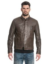 Star Wars Han Solo Leather jacket for Men Brown – Bild 1