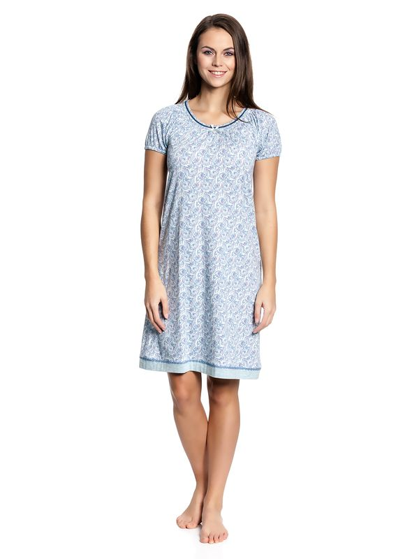 Vive Maria Little Peafowl Sleepshirt mint-melange/allover – Bild 1
