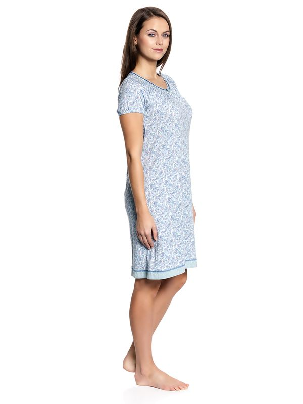 Vive Maria Little Peafowl Sleepshirt mint-melange/allover – Bild 2
