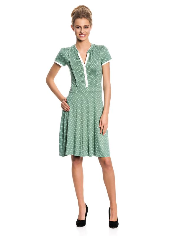 Vive Maria Summer Dots Dress green allover – Bild 1