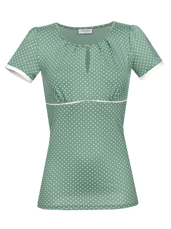 Vive Maria Summer Green Shirt grün Allover-Print