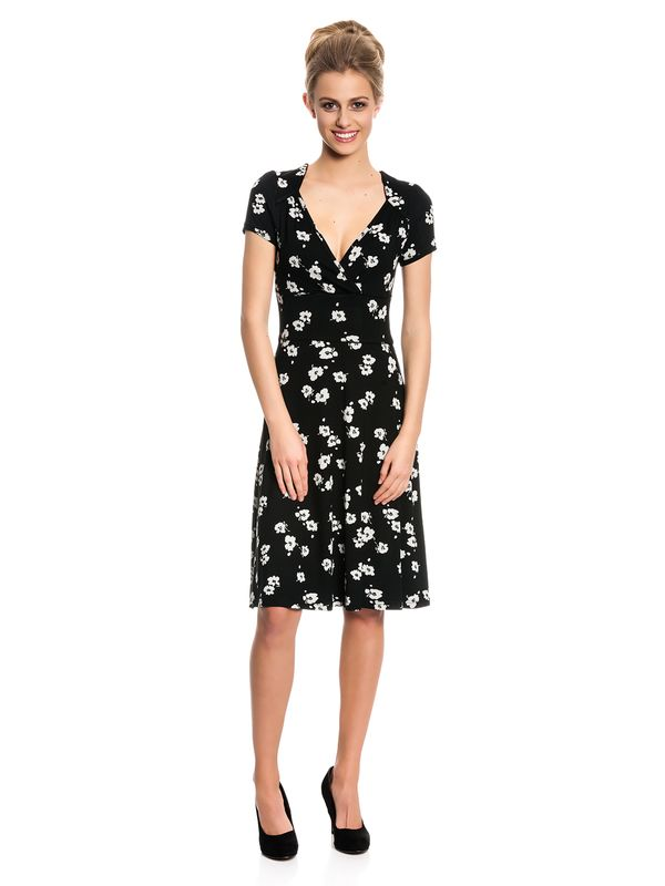 Vive Maria Fleur Noir Dress Kleid schwarz Allover-Print – Bild 1