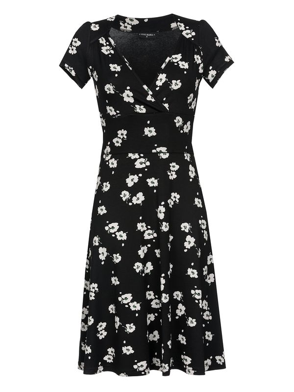 Vive Maria Fleur Noir Dress Kleid schwarz Allover-Print – Bild 0