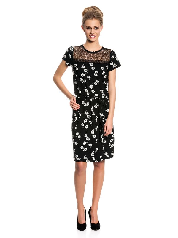 Vive Maria Été Noir Dress Kleid schwarz Allover-Print – Bild 1