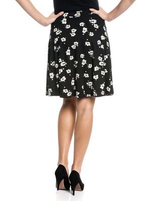 Vive Maria Fleur Noir Skirt Rock schwarz Allover-Print – Bild 3