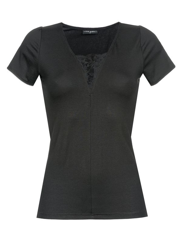 Vive Maria Été Noir Shirt black allover – Bild 0