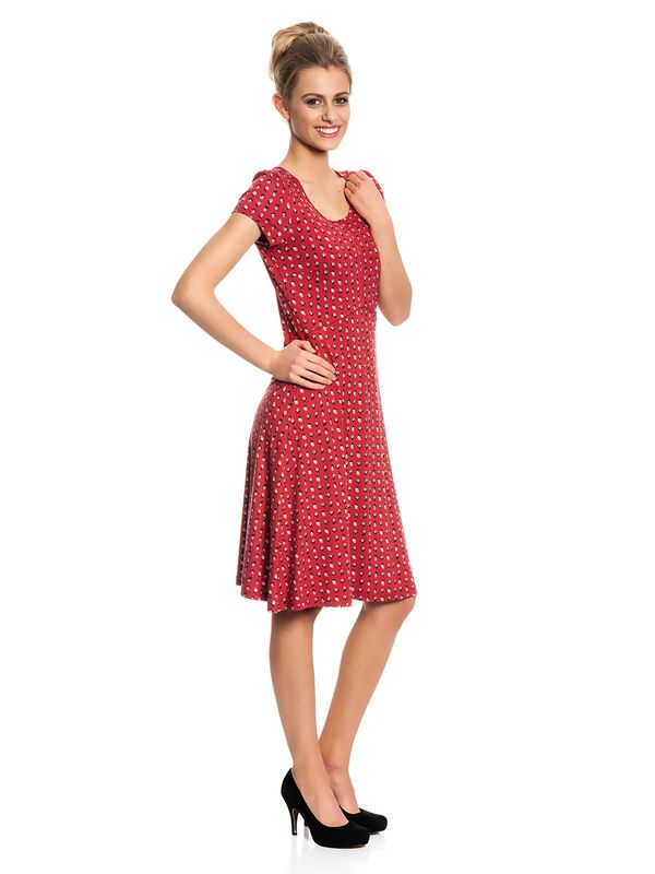 Vive Maria French Fleur Dress Kleid rot Allover-Print – Bild 3